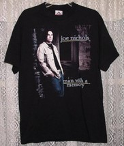 JOE NICHOLS CONCERT TOUR T SHIRT 2002 MAN WITH A MEMORY - $49.99