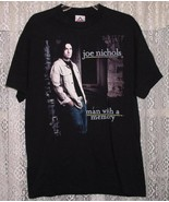 JOE NICHOLS CONCERT TOUR T SHIRT 2002 MAN WITH A MEMORY - $64.99