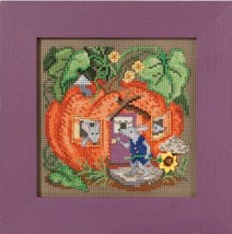 Mouse House Autumn Harvest Mill Hill 2016 Button and Bead kit Mill Hill  - $12.60