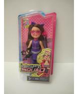 NRFB Barbie Sister Chelsea Barbie Spy Squad Doll Purple 2015 New Brunett... - $8.00