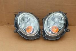 07-12 Mini Cooper R55 R56 R57 Halogen Headlight Lamps L&R Matching Set