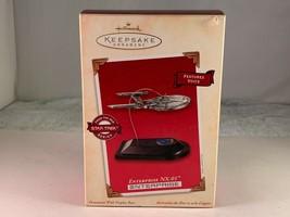Star Trek USS Enterprise NX-01 Hallmark Keepsake Magic Ornament from 2002 - $34.65