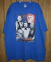 Kenny Rogers Concert Tour T Shirt Through The Years - $64.99