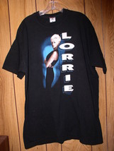 Lorrie Morgan Concert Tour T Shirt Early 1990's Something In Red - $64.99