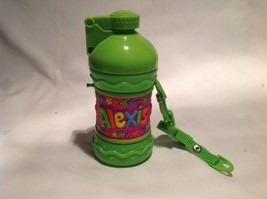 Personalized Child's Drink Cup NEW with press button opening and Carry S... - $39.99