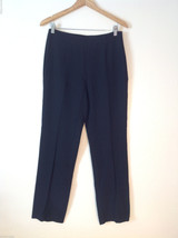 Womens Zara black dress pants size 10 flat front