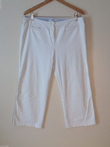Womens Tommy Hilfiger Size 14 white cargo pants