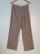 Womens Ventilo La Colline very lightweight light brown pants size 12