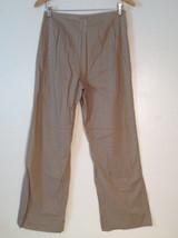 Womens Ventilo La Colline very lightweight light brown pants size 12 image 2