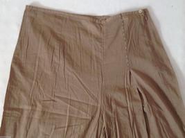 Womens Ventilo La Colline very lightweight light brown pants size 12 image 3