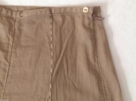 Womens Ventilo La Colline very lightweight light brown pants size 12 image 6