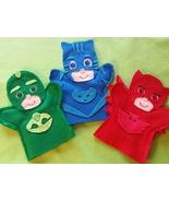 PJ Masks felt Puppets - $18.00