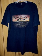 Toby Keith Lady Antebellum Zac Brown Band Concert T Shirt Stagecoach Ind... - $64.99