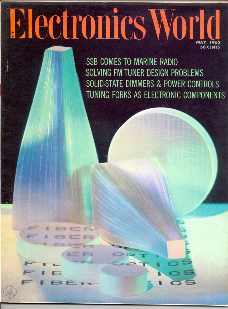 Electronics World May 1965 VG/EX Tubes Hi-Fi and 50 similar