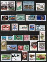 CANADA  Collection of mostly used stamps DL-130 - $0.98