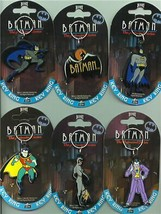 Batman Set of 6 Batman key chains UK European - $65.99