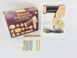 Vintage 1983 Wear Ever Super Shooter Electric Food Gun Cookie/Candy Make... - $33.76