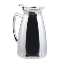 10 oz 6 3/4 inch H Stainless Steel Insulated Server - $85.26