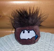 Disney Club Penguin Plush Cocoa Brown Puffle w/ Tongue Looks for Yummy T... - $4.95
