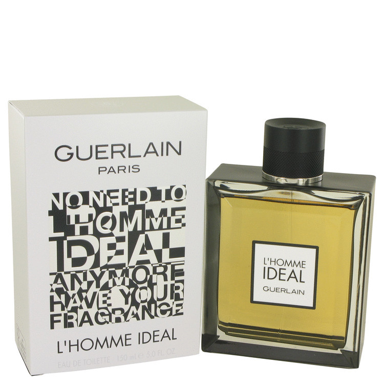 Guerlain L'Homme Ideal 5.0 Oz Eau De Toilette Cologne Spray