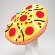 Fun Bright Colored Felt Pepperoni Pizza Novelty... - $14.50