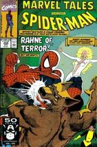 """Marvel Tales #248 : Starring Spider-Man and the New Mutants in """"The Hunt... - $4.89"""