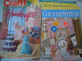 Assortment of Craft Magazines Lot of 5 - $4.99