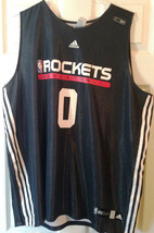 AARON BROOKS GAME USED SIGNED ROCKETS JERSEY AUTOGRAPHED PSA JSA GUARANTEED - $191.21