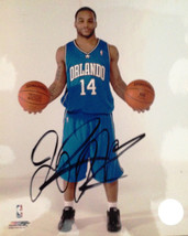 JAMEER NELSON AUTOGRAPHED 8X10 SIGNED ORLANDO MAGIC PSA JSA GUARANTEED! - £12.95 GBP