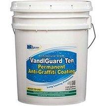 Rainguard VandlguardTen Anti-Graffiti Non-Sacrificial Coating, 5 Gal - 10 Year - $566.28