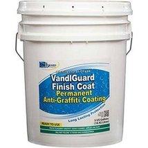 Rainguard Vandlguard Finish Coat Anti-Graffiti Non-Sacrificial Coating, 5 Gal - $522.72