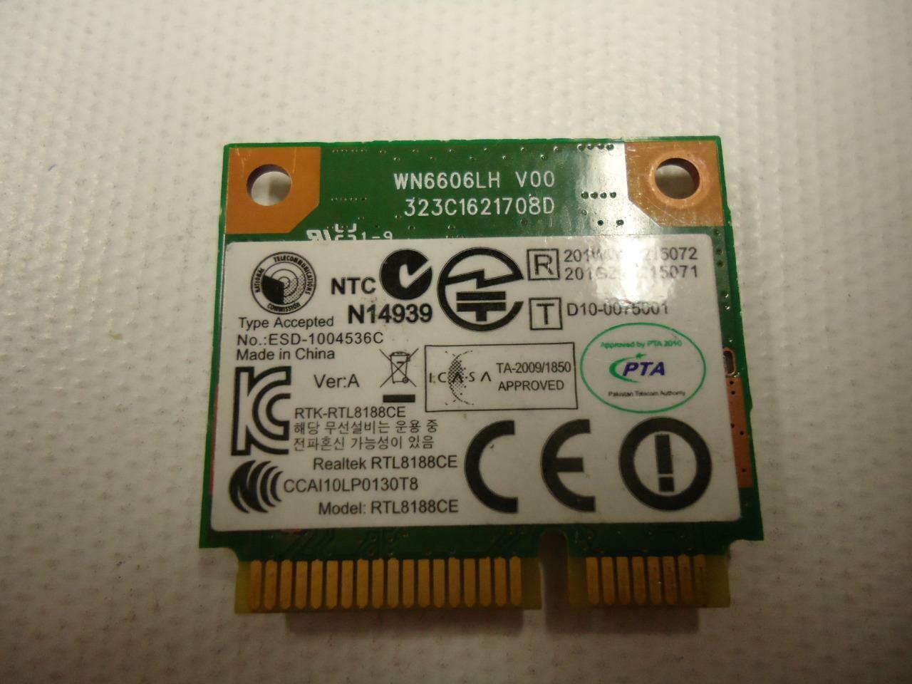 Realtek RTL8188CE 802.11b/g/n Wireless Half Mini Card WN6606LH Lenovo Thinkpad image 2