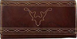 Frye Women's Campus Stitch Wallet Walnut One Size - $81.69