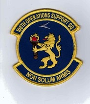 100th OPERATIONS SUPPORT SQUADRON PATCH :GA15-1 - $5.00