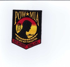 USAF PATCH - DES MOINES IOWA AIR NATIONAL GUARD POW*MIA  PATCH:GA14-1 - $5.25