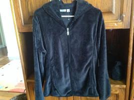 Jason Maxwell Zip Up Black Textured Pattern Jacket Ladies S or L - $24.65