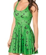 The Riddler Question Mark Green Reversible Sun Dress - $18.99