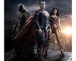 Batman v Superman Dawn of Justice Wonder Woman Batman and Superman in Rain 8 ...