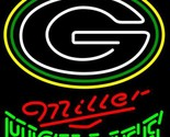 Miller high life nfl green bay packers neon sign 20  x 20  thumb155 crop