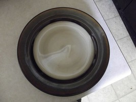 Home Trends Rave Stripe dinner plate 4 available - $7.08