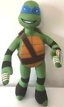 NEW Xlarge 17'' Ninja Turtle Plush Toy Leonardo Blue . Licensed NWT. - $17.63