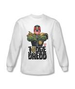 Judge Dredd Long Sleeve T shirt cool superhero comic 100%... - £22.80 GBP+