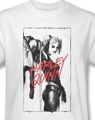 Harley Quinn T shirt Joker Suicide Squad Batman superhero 100% cotton tee BM2270