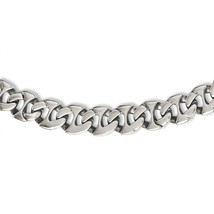 Men's Chisel Stainless Steel Polished Link Chain Necklace w/ Fancy Lobst... - $101.29