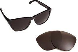 New Seek Optics Replacement Lenses Oakley Frogskins Lx   Polarized Black - $18.30