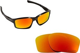 New Seek Optics Replacement Lenses Oakley Chainlink   Polarized Red - $18.30