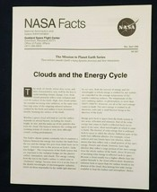 NASA Facts ~ Clouds and the Energy Cycle ~ 6 pages 1996! - $7.70