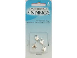 Horizon Jewelry Essentials Findings 8mm Swivel Lobster Claw Clasps