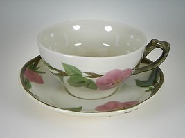 Franciscan Desert Rose Cup & Saucer BRAND NEW PRODUCTION - $3.95