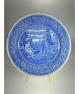 Spode Blue Room Collection Woodman Dinner Plate NEW WITH TAGS Large Backstamp - $12.58